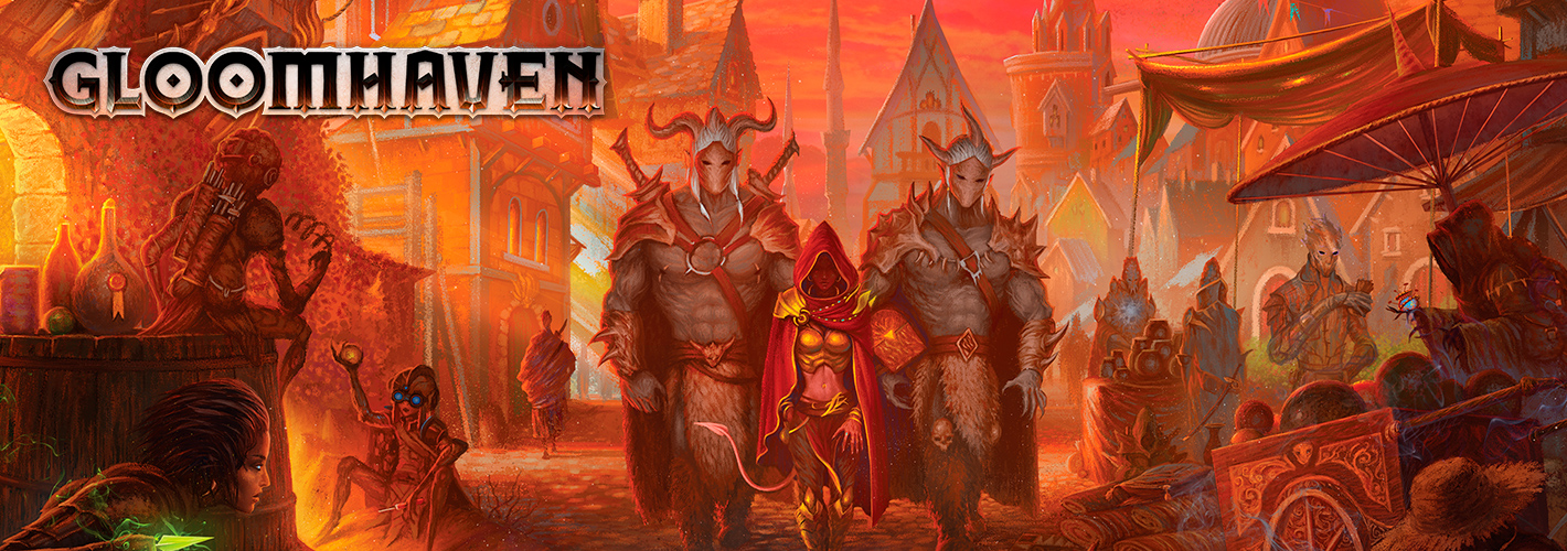 Gloomhaven llega a Chile
