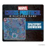 Marvel Crisis Protocol: Spaceport Showdown Game Mat