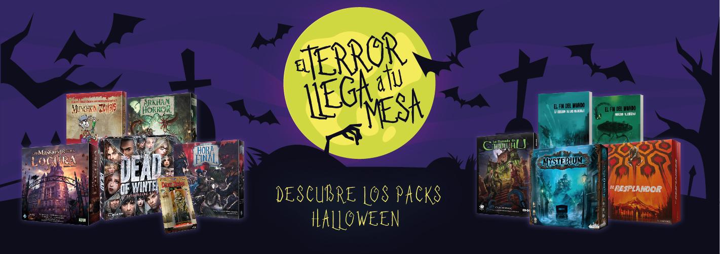 En Halloween, el Terror llega a tu mesa
